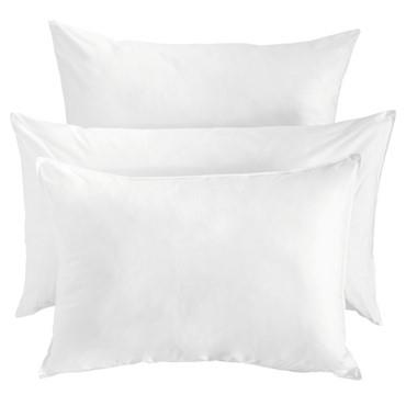 Miss Lyn Micro Fibre Pillow Inners White 200 Thread Count, 100% Cotton Percale