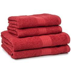 Miss Lyn 450gsm Egyptian Towels Burgundy Pure Cotton