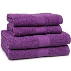 Miss Lyn 450gsm Egyptian Towels Light Grey 100% Cotton