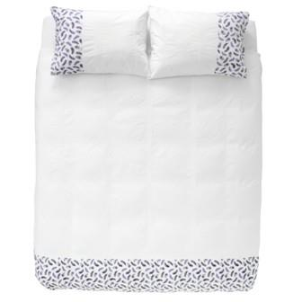 Miss Lyn Feather Duvet Covers White 200 Thread Count, 100% Cotton Percale