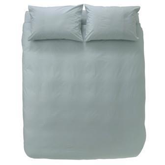 Miss Lyn Plain Duvet Covers Duck Egg 200 Thread Count, 100% Cotton Percale