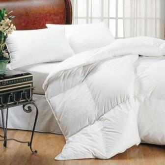 Miss Lyn Duck Down / Feather 13:87 Duvet Inners White Regular Weight - 100% Cotton Downproof