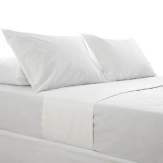 Miss Lyn Fully Elasticated Fitted Sheets White 200 Thread Count, 100% Cotton Percale