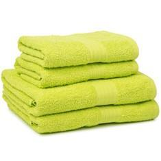 Miss Lyn 450gsm Egyptian Towels Lime Pure Cotton