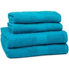 Miss Lyn 450gsm Egyptian Towels Teal Pure Cotton