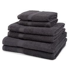 Miss Lyn Hotel Collection Towels Grey 100% Cotton