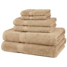 Miss Lyn Hotel Collection Towels Stone 100% Cotton