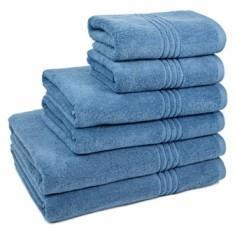 Miss Lyn Miss Lyn Hotel Collection Towels Denim 100% Cotton