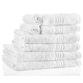 Miss Lyn Nortex Snag Free Towels White 100% Cotton